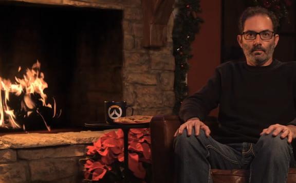 Yule Log 2019 mit Jeff Kaplan für Overwatch