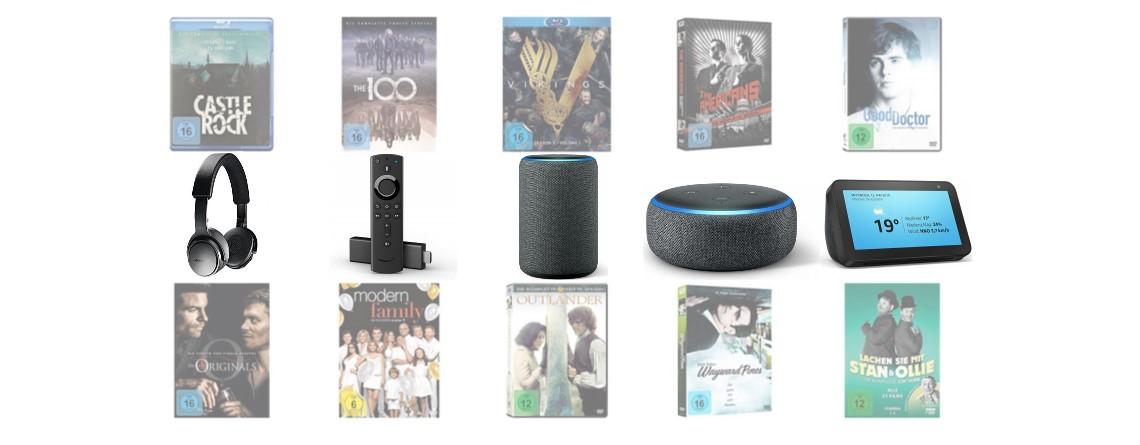 Bose-Kopfhörer, Amazon-Geräte und 4K-Blu-rays reduziert