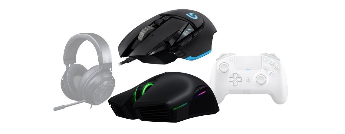 Gute Gaming-Mäuse von Logitech und Razer bei Amazon reduziert