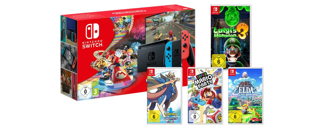 Amazon: Die 5 besten Nintendo Switch Angebote zu Weihnachten