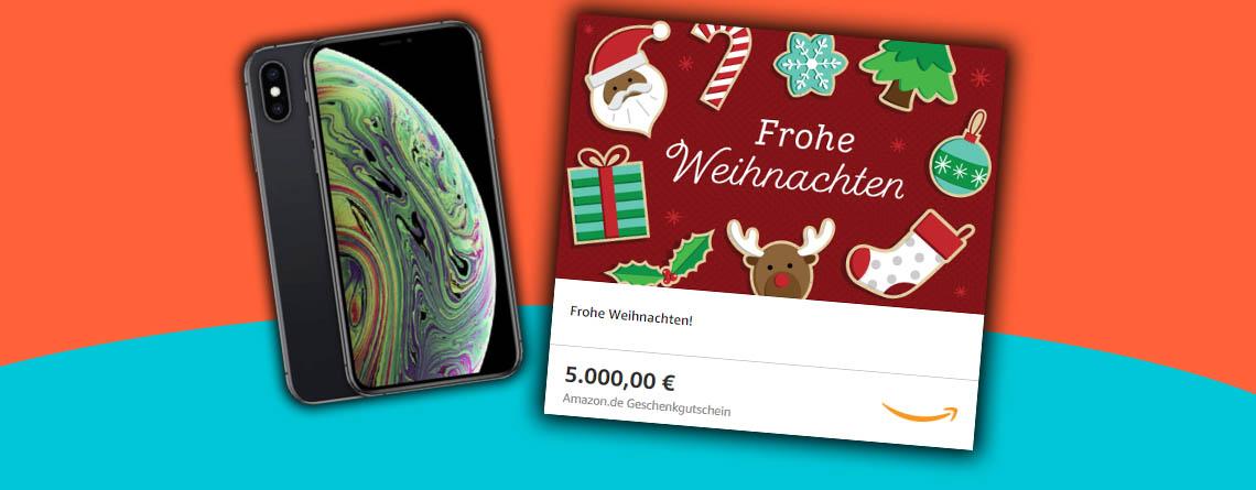 Last Minute Geschenke zu Weihnachten: Amazon Gutschein