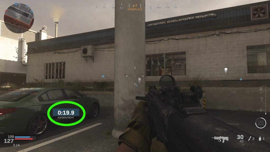 cod modern warfare cranked timer