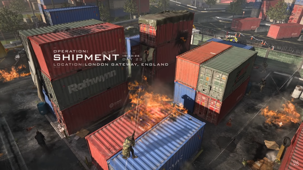 cod modern warfare shipment