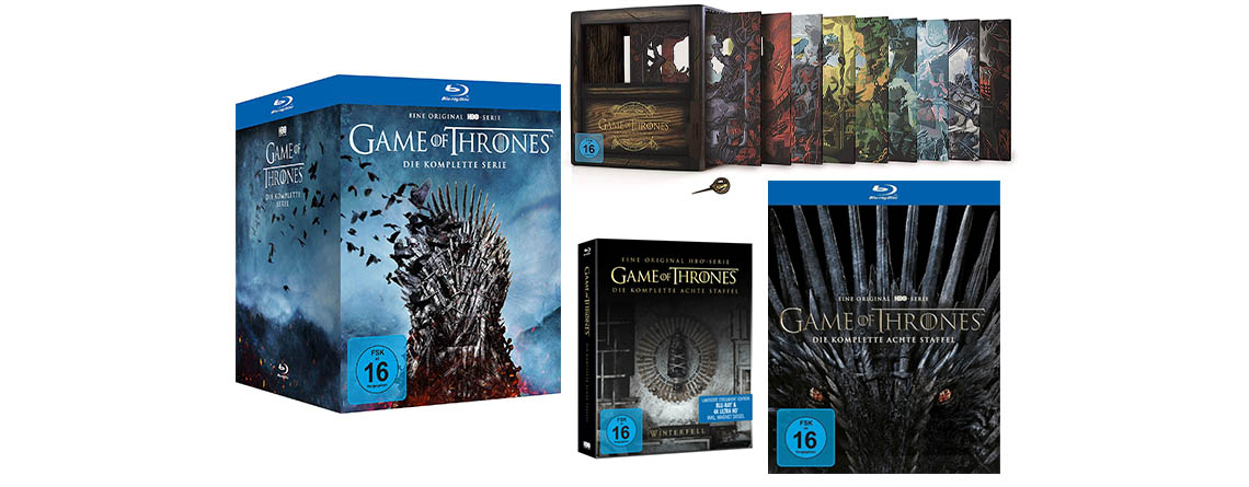 Game of Thrones: Staffel 8 und Komplettbox auf Blu-ray & DVD kaufen