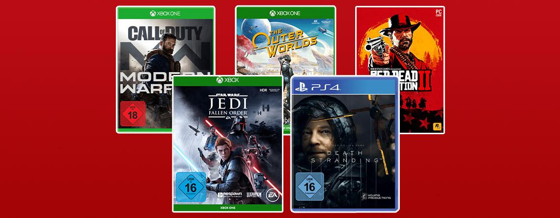 MediaMarkt Prospekt 3-für-2-Aktion: 2 Spiele kaufen, 1 gratis erhalten