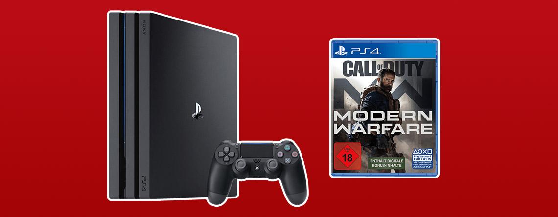 MediaMarkt Prospekt Top-Angebot: PS4 Pro Bundle besonders günstig