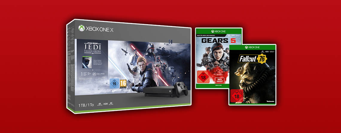 MediaMarkt Prospekt: Xbox One X Angebot besser als zum Black Friday
