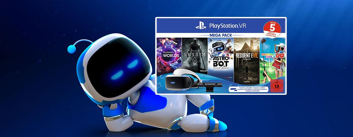 OTTO Angebote: PS4 PlayStation VR Mega Pack 2 zum Spitzenpreis