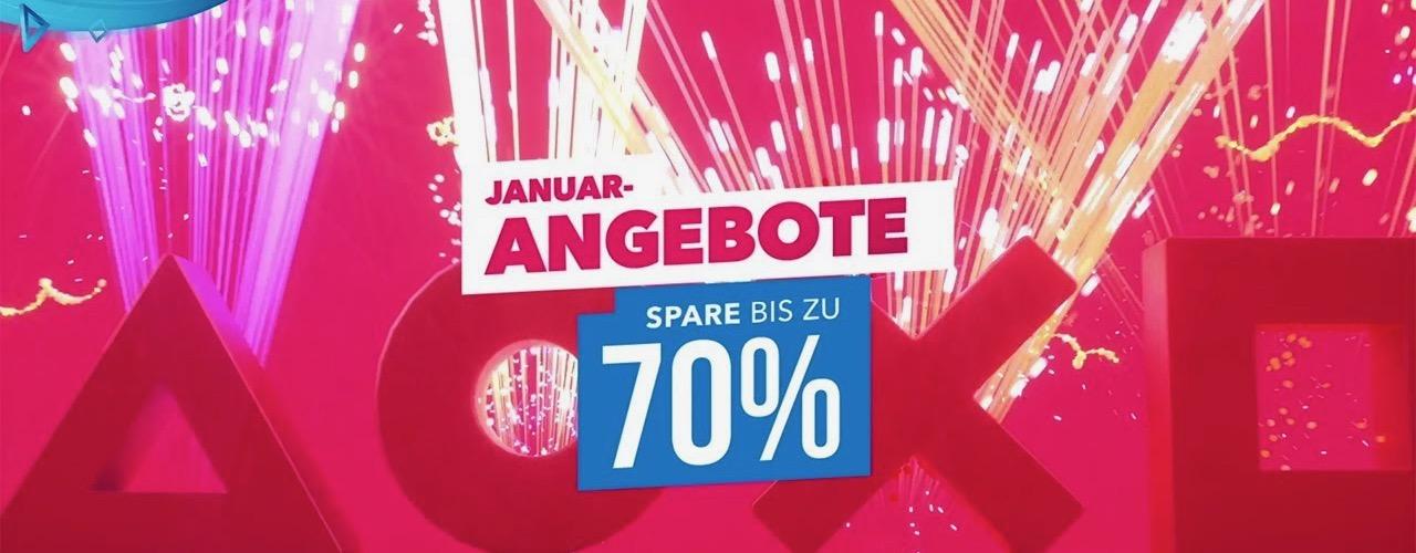 Januar-Angebote im PS Store gestartet – Mit bis zu 70% Rabatt und über 1000 Deals