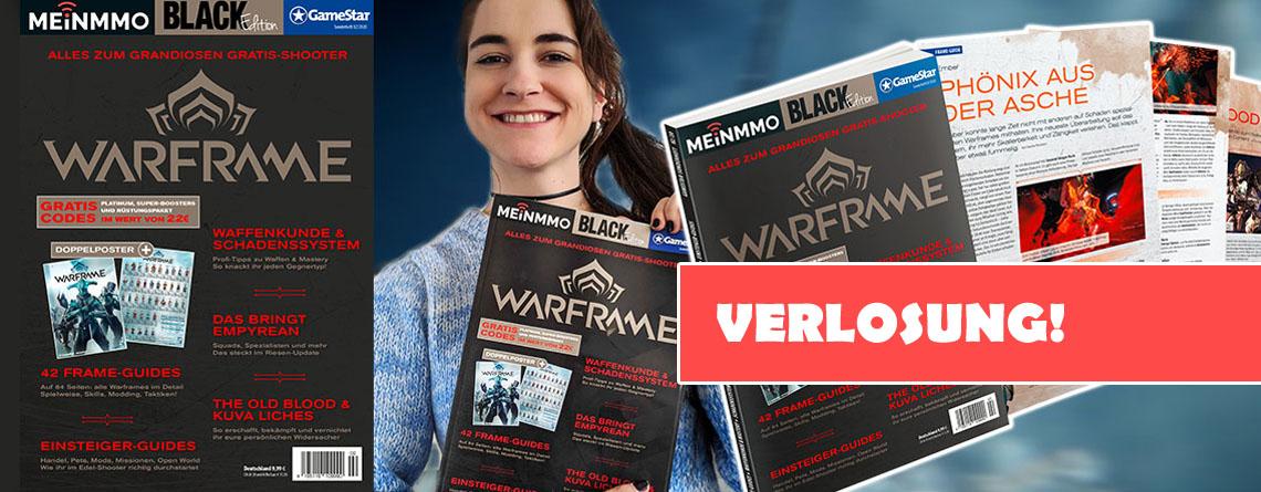 Gewinnt unser schickes Warframe-Magazin für Neulinge und Sammler im Wert von 22€