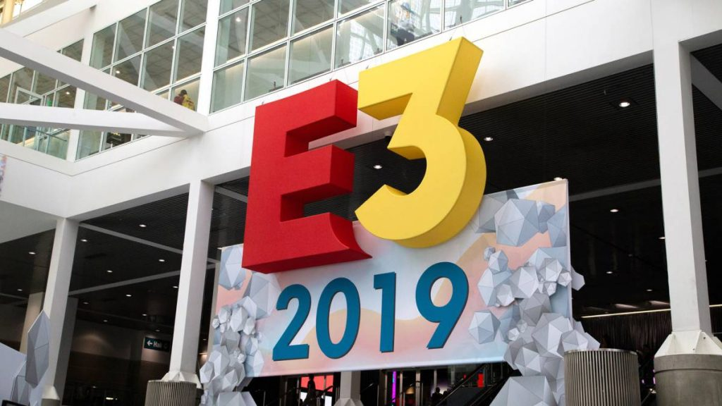 E3 messe eingang