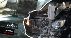 CS GO Auto Schrott Tür Titel