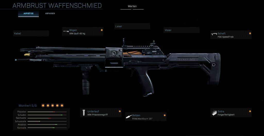 Call fo Duty Modern Warfare Armbrust Anti Killstreak