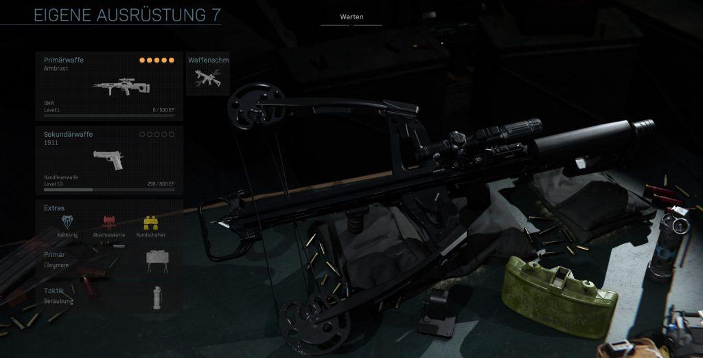 Call fo Duty Modern Warfare Armbrust Sniper Build