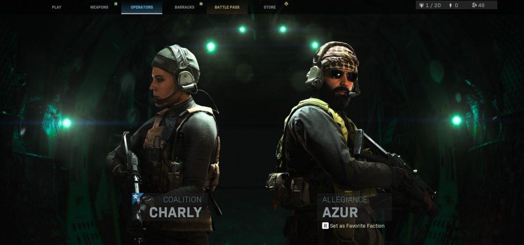 Call fo Duty Modern Warfare Operator Screenshot