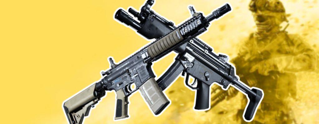Call of Duty Modern Warfare MP4 M4 Nerf Titel