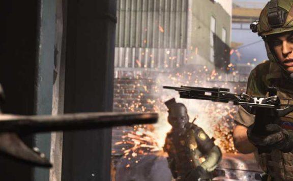CoD Modern Warfare Armbrust Titel