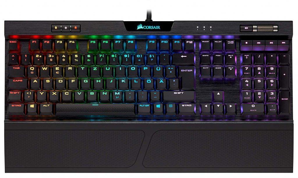 Corsair K70 Rapidfire RGB MK2 Gaming - Tastatur: schnellste und beste Low Profile Tastatur 2020