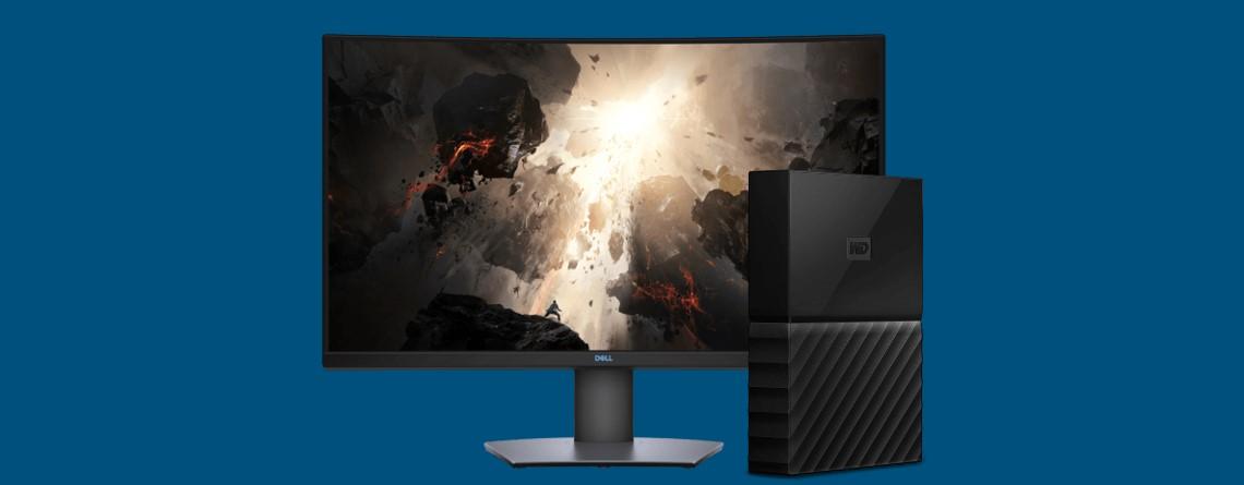 Curved Gaming-Monitor und externe Mac-HDD bei Cyberport reduziert