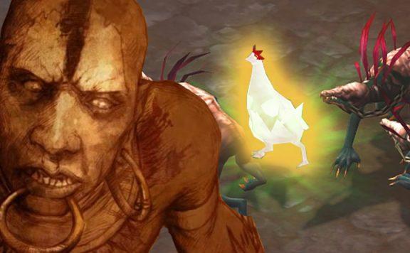 Diablo 3 Hexendoktor Chicken Titel