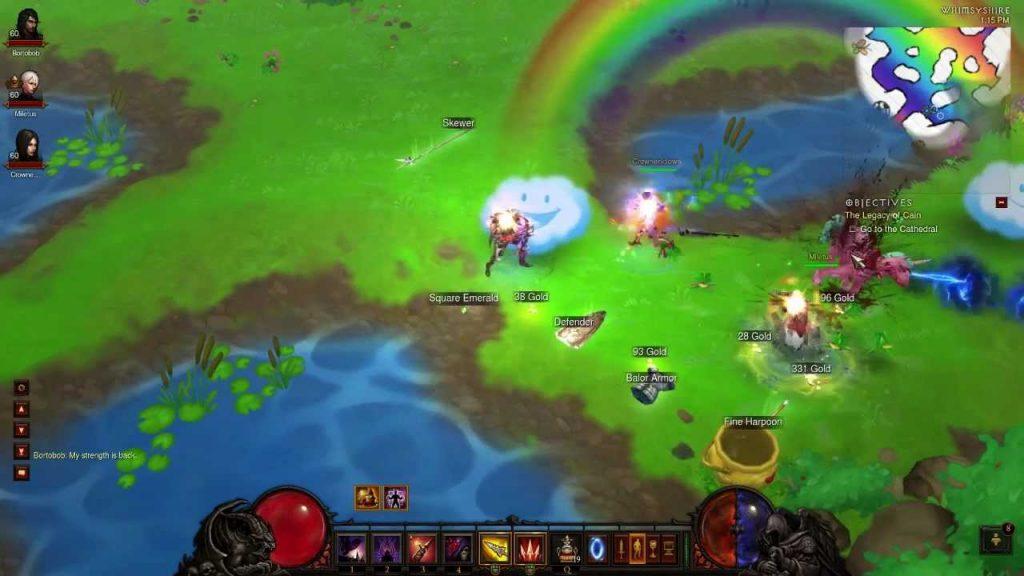Diablo 3 Rainbow Level