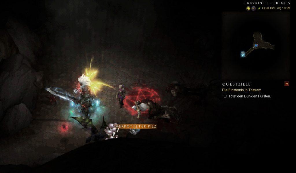 Diablo 3 verrotteter Pilz