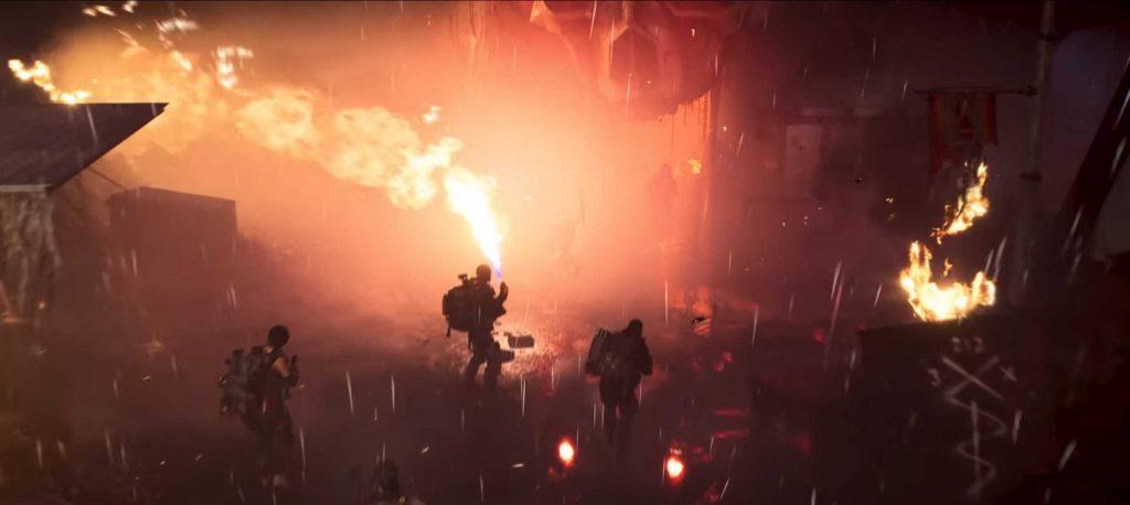 Division 2 Flammenwerfer werfs flammen