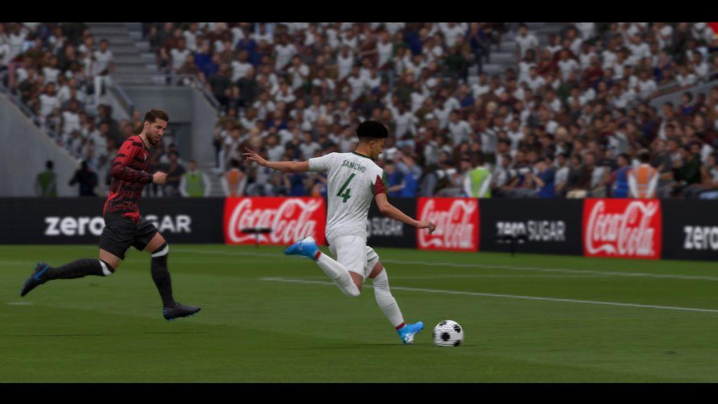 FIFA 20 Schuss