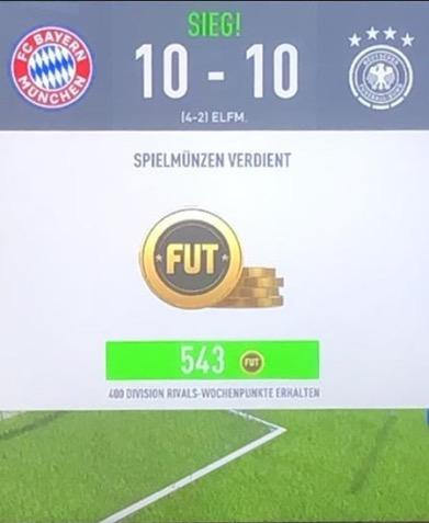FIFA 20 Weekend league Ergebnis