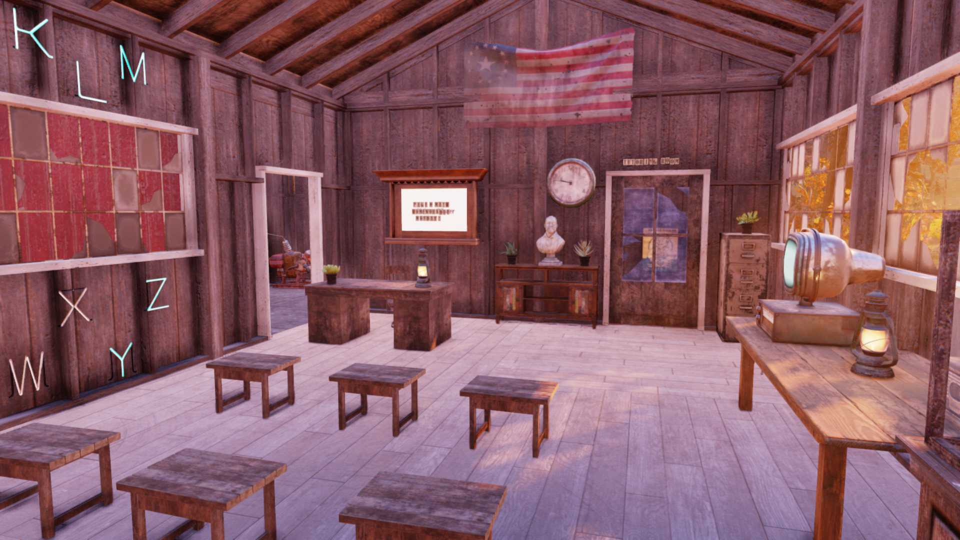 Fallout 76 Mathe Camp Klassenzimmer 2