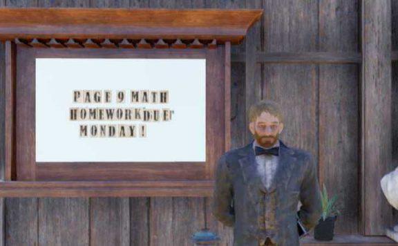 Fallout 76 Mathe Camp Lehrer Titel