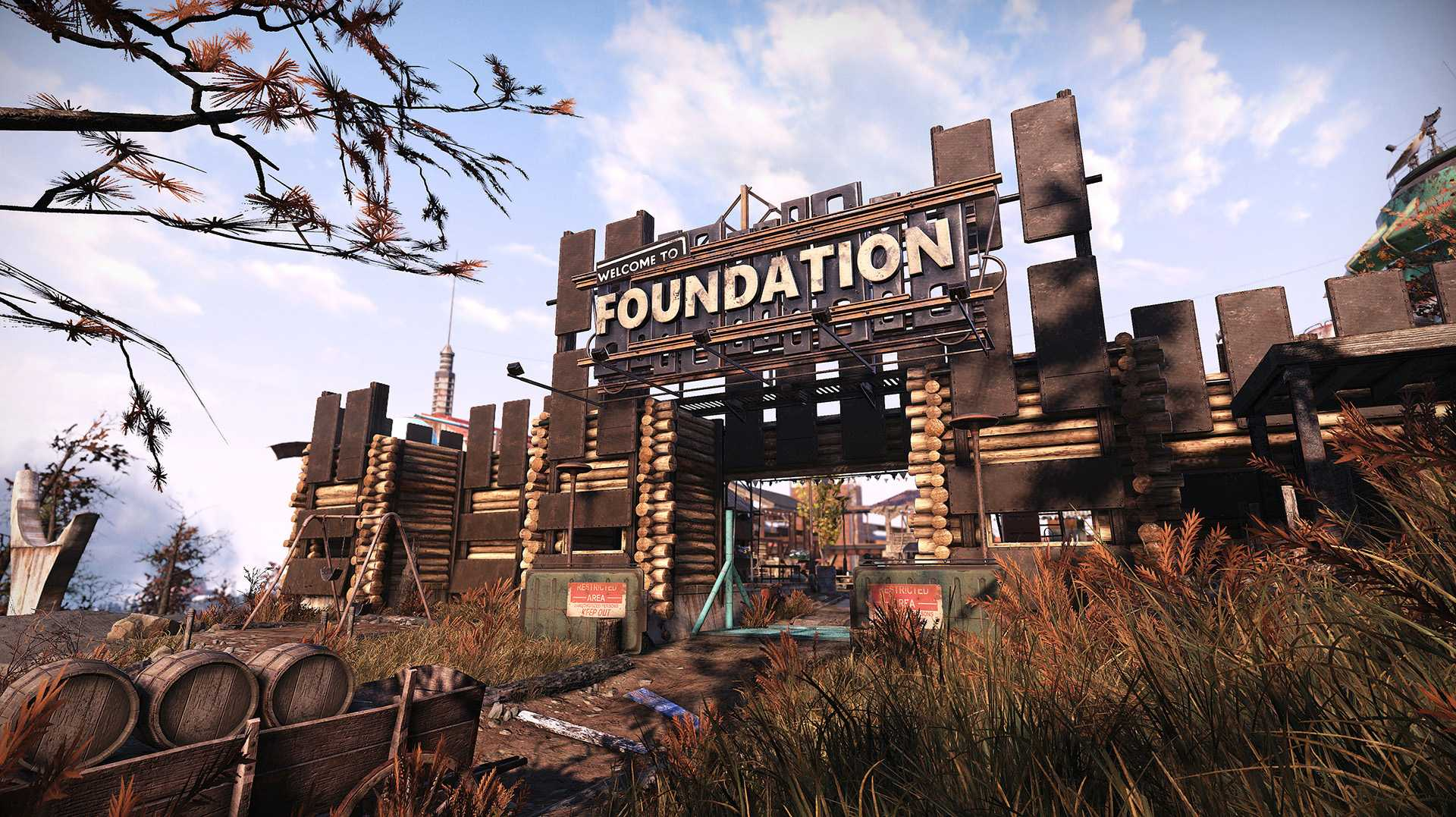 Fallout 76 Wastelanders Screenshot Foundation