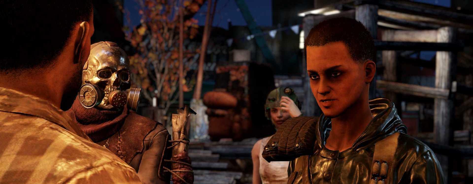 Fallout 76: Neue Bilder zu Wastelanders – So sehen die größten Fraktionen aus