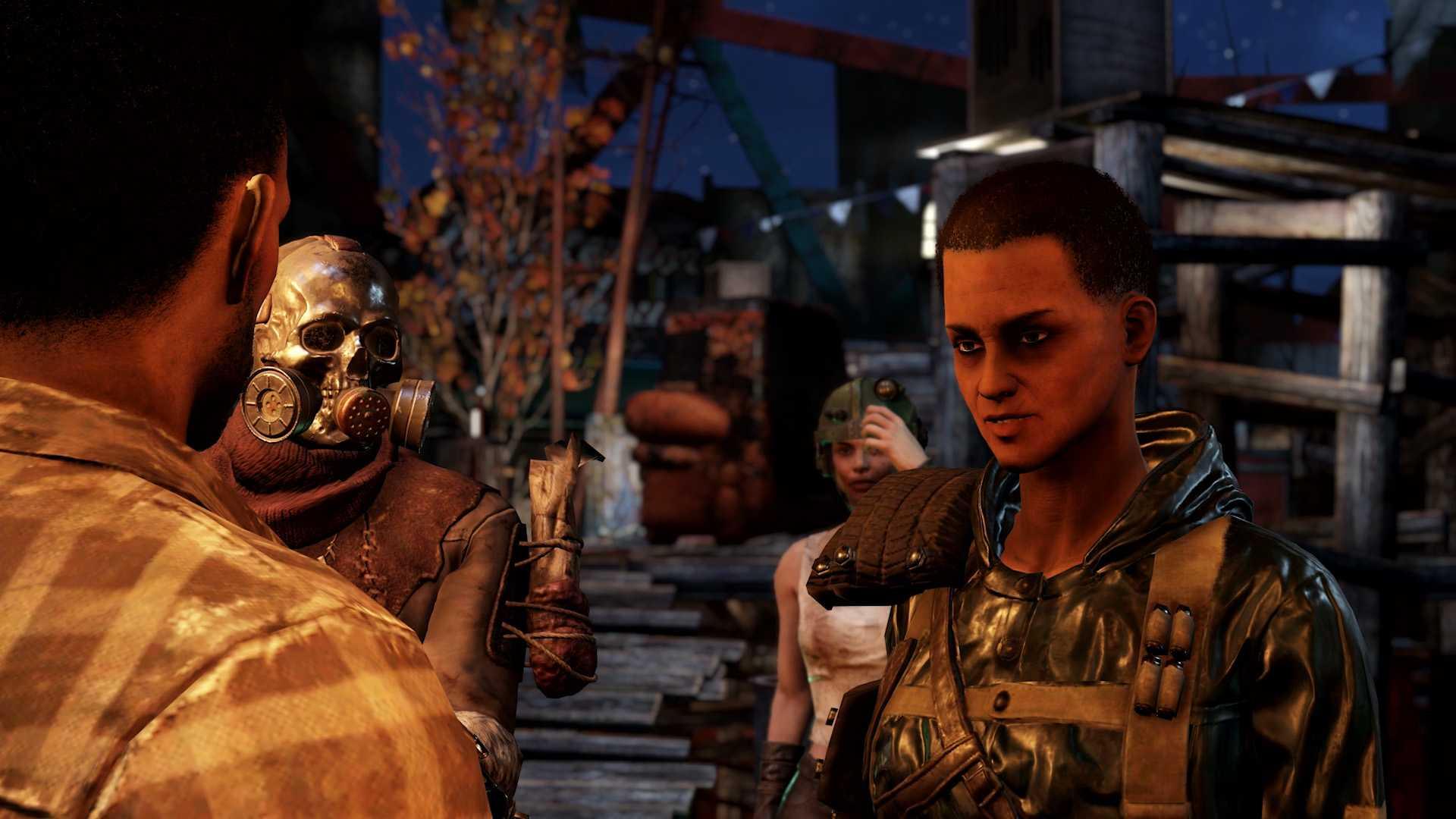 Fallout 76 Wastelanders Screenshot Raider Lager