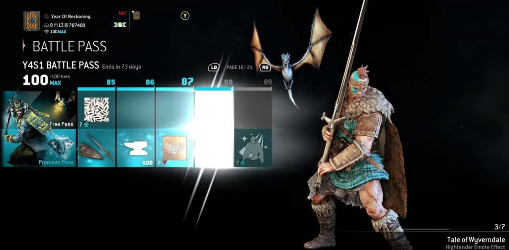 For Honor Battle-Pass Year 4 Detail