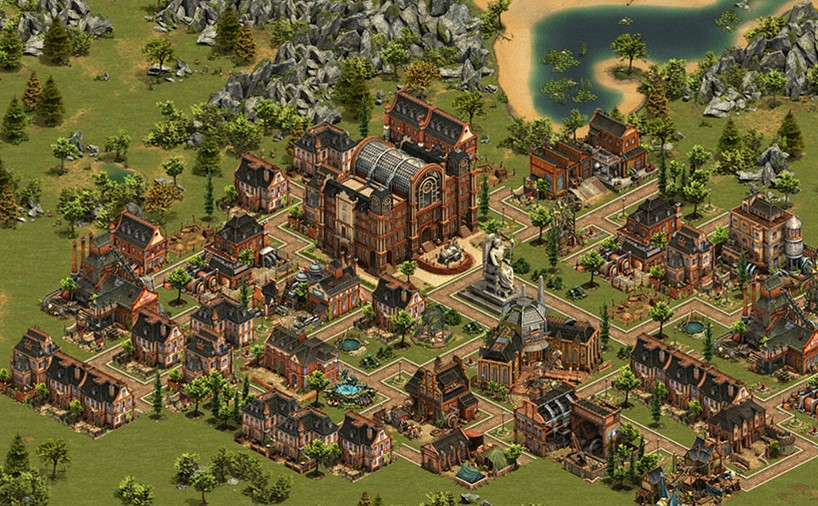 Forge of Empires Stadt