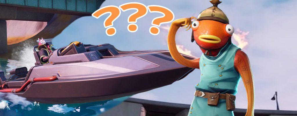 Fortnite Boot verloren Titel