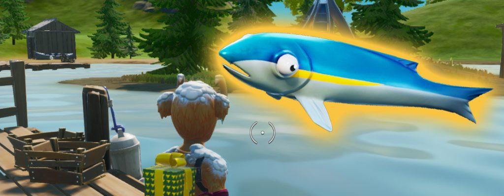 Fortnite Fisch See Angeln Titel