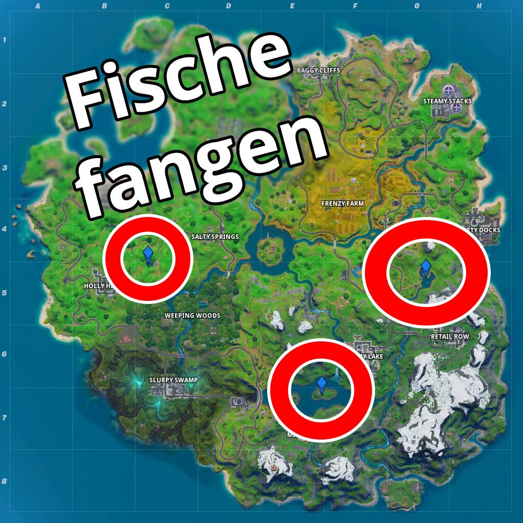 Fortnite Fische Fangen Map