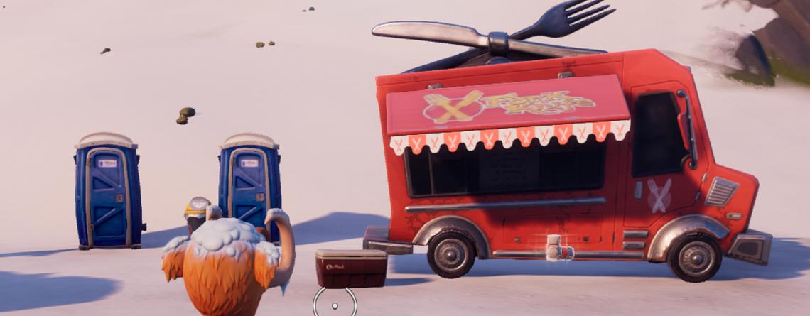 Fortnite: Imbisswagen – An diesen Fundorten stehen die Food Trucks