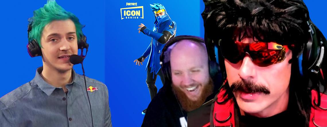 So reagieren Twitch-Streamer darauf, dass Ninja einen Fortnite-Skin hat