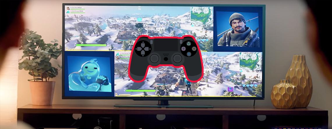 Fortnite: Splitscreen auf PS4 und Xbox One nutzen – Anleitung