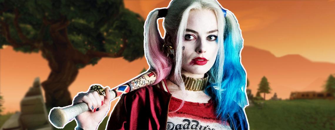 """In Fortnite könnte es bald einen """"Harley Quinn""""-Skin geben"""