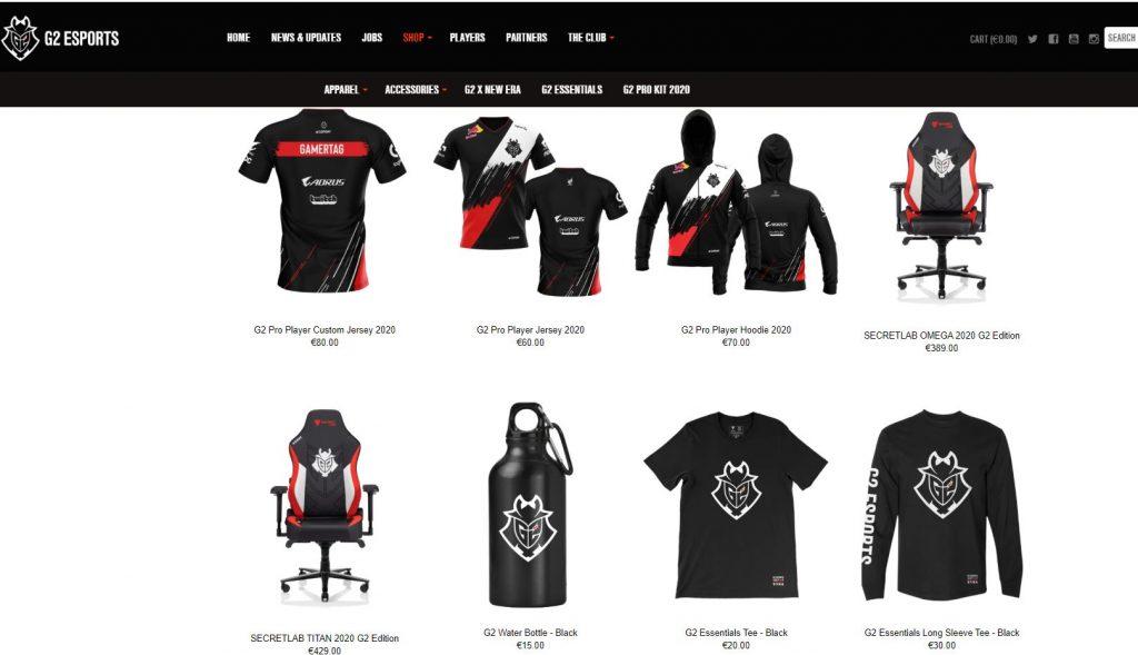 G2-Esports-Store