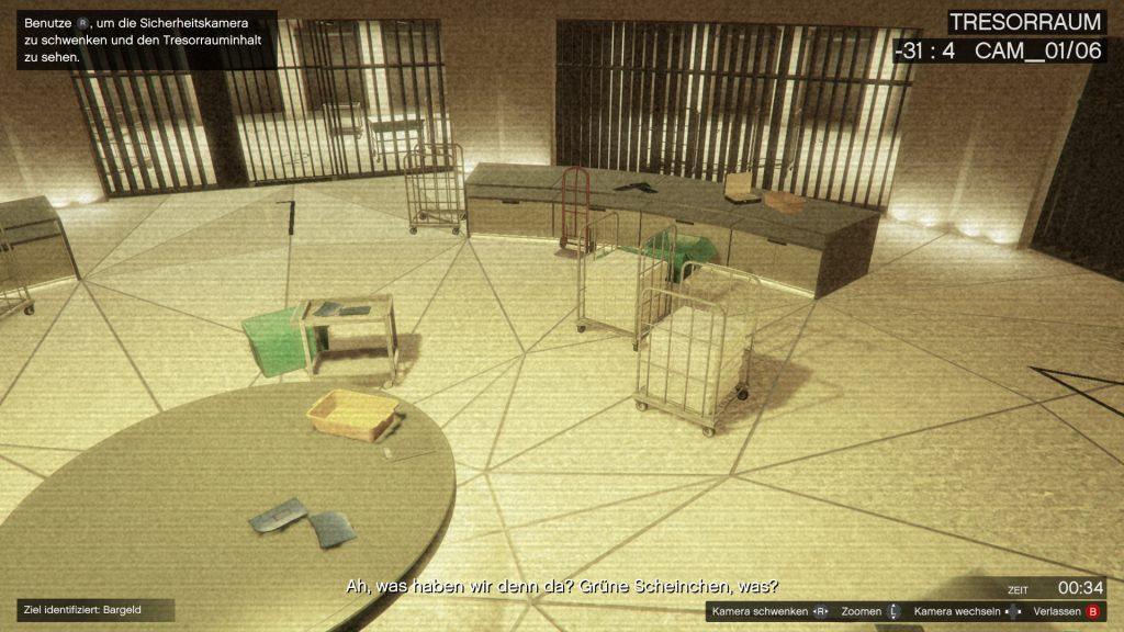 GTA Online Casino Heist Tresor Geld