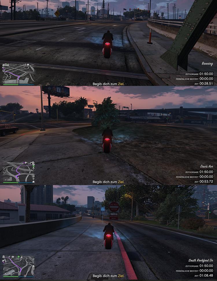 GTA Online Elysian Island II Strecke Abkürzungen