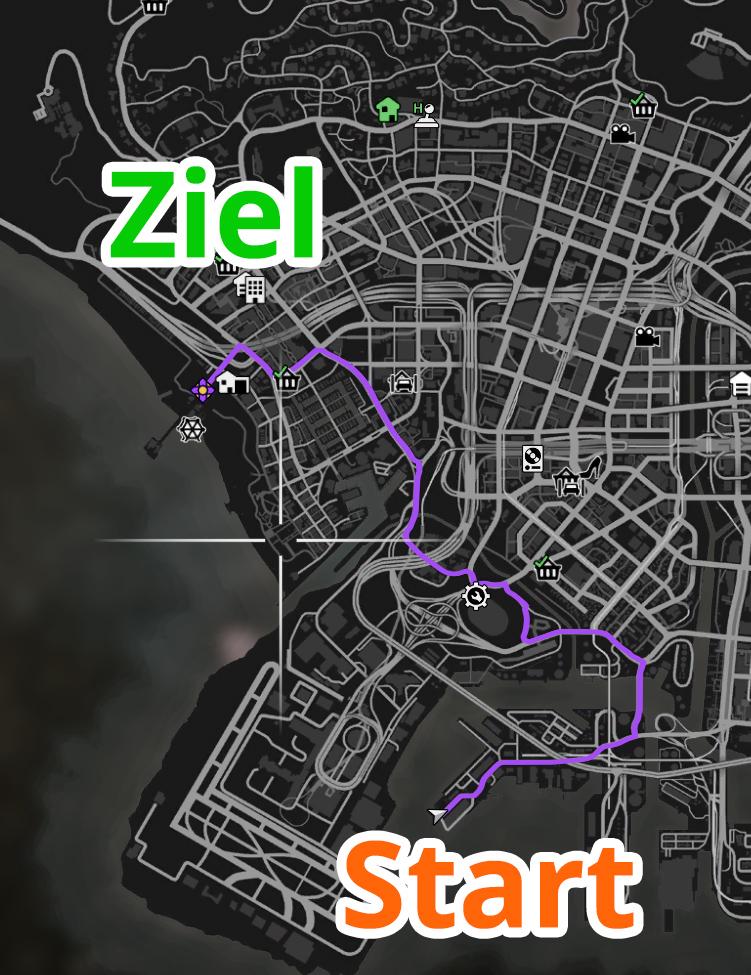 GTA Online Elysian Island II Strecke2