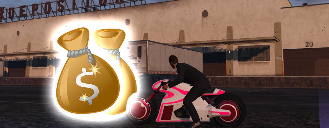 GTA Online: Schnappt euch jetzt 101.000 GTA-Dollar in 2 Minuten – Zeitrennen