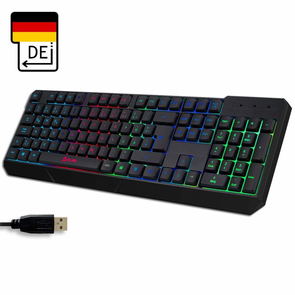 Klim Gaming Tastatur - Beste Tastatur unter 30 Euro