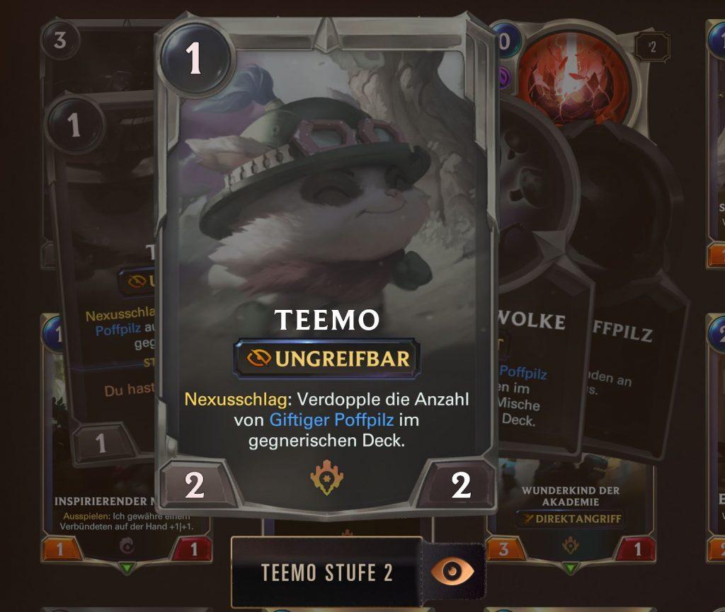 Legends of Runeterra Teemo